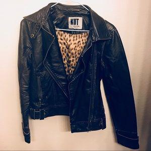 KUT leather jacket